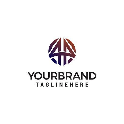 vecteur de flèche logo design concept