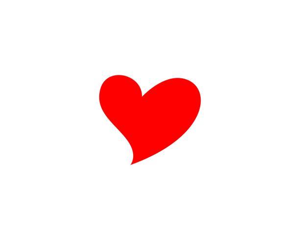 Amour Logo et symboles Vector Template icônes app vector