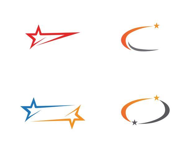 Icône du logo Star modèle vector illustration