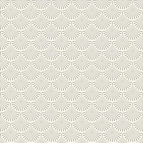 Motif de vagues de cercles japonais abstraites. Texture de la courbe de l'eau. vecteur