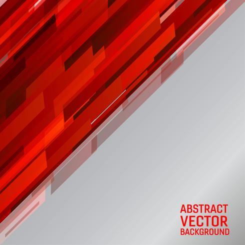 Vector abstrait géométrique couleur rouge clair illustration graphique abstrait