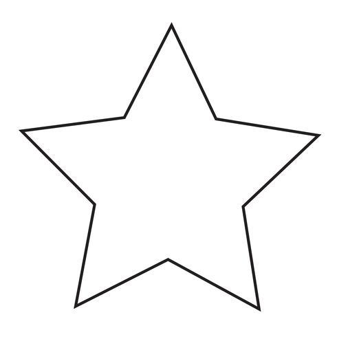 icône étoile Illustration vectorielle vecteur