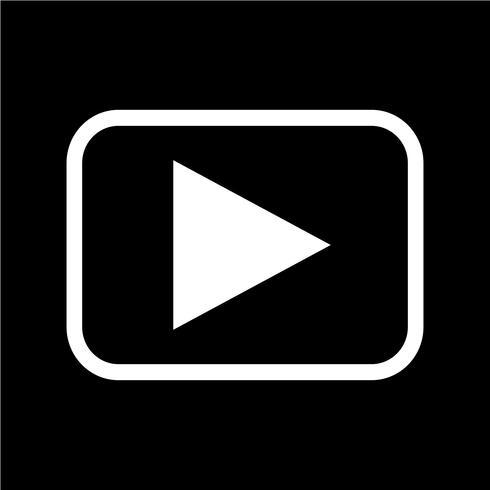 Jouer icône illustration vectorielle vecteur