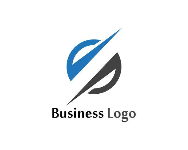 S logo flash et icônes vectorielles modèle de symboles vecteur