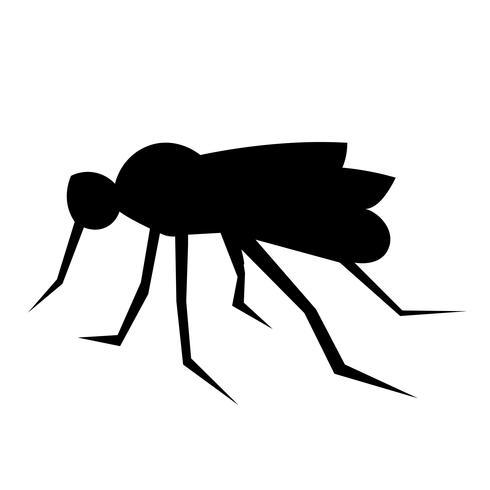 Vecteur d'icône de moustique