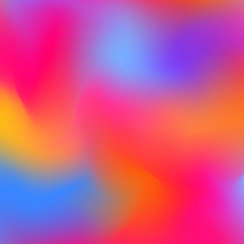 Concept créatif abstrait vecteur multicolore arrière-plan flou
