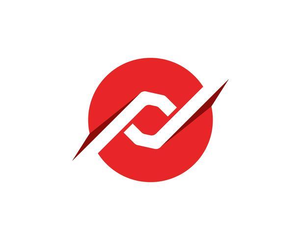 logo finance et symboles vector illustration de concept