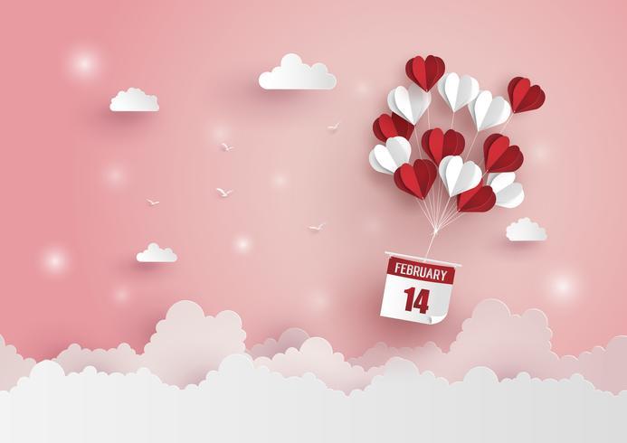 Illustration de l'amour et de la Saint-Valentin vecteur