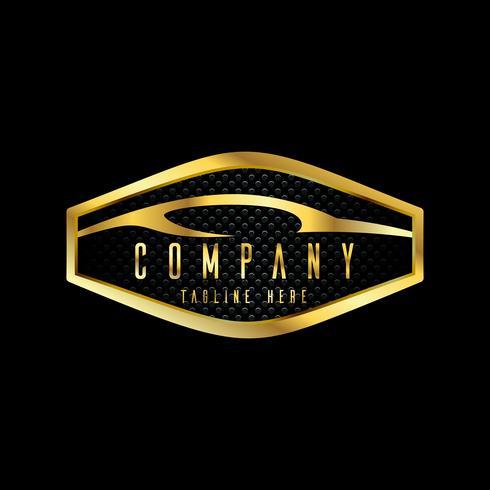 emblèmes de voiture moderne, insignes modèle de conception de logo pour le service de voiture, service de pneu, lavage et détaillant. vecteur