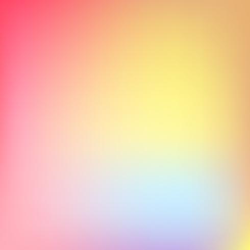 Résumé flou fond dégradé avec tendance couleurs pastel rose, violet, violet, jaune et bleu pastel pour daigner les concepts, fonds d'écran, web, présentations et impressions. Illustration vectorielle vecteur
