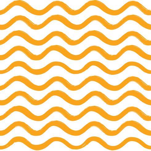 Modèle sans couture de vague abstraite. Ornement de ligne ondulée vecteur
