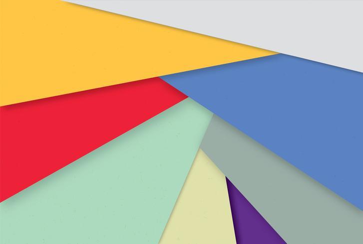 Abstrait géométrique. Papier peint multicolore élégant vecteur