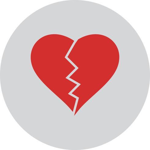 Icône de coeur de vecteur