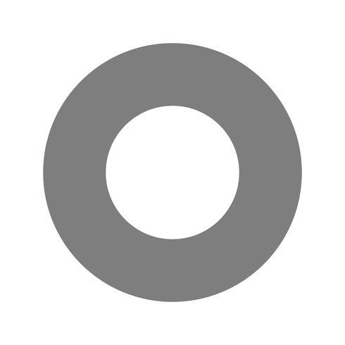 Icône de trou de vecteur