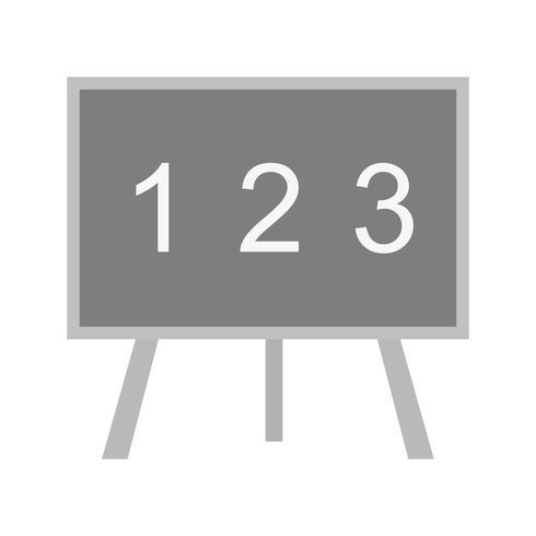 Icône de Vector Black Board