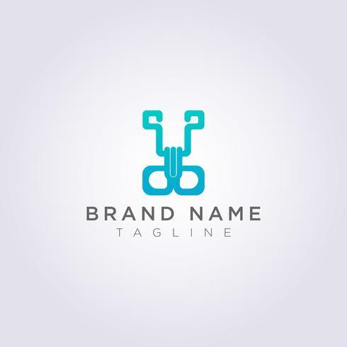 Création de logo de pince pour votre entreprise ou votre marque vecteur
