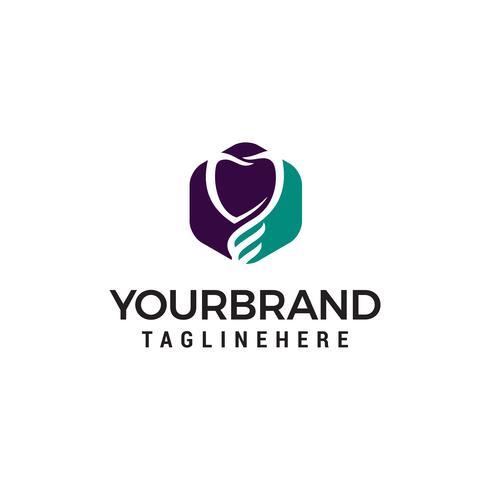 coeur soins logo design concept template vecteur