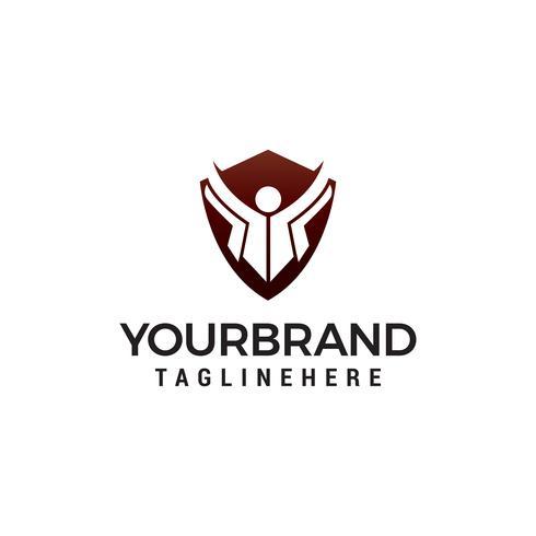 vecteur de l'éducation logo design concept