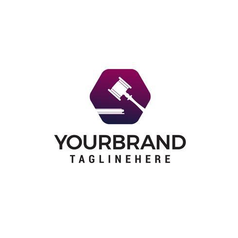 avocats logo design concept template vecteur