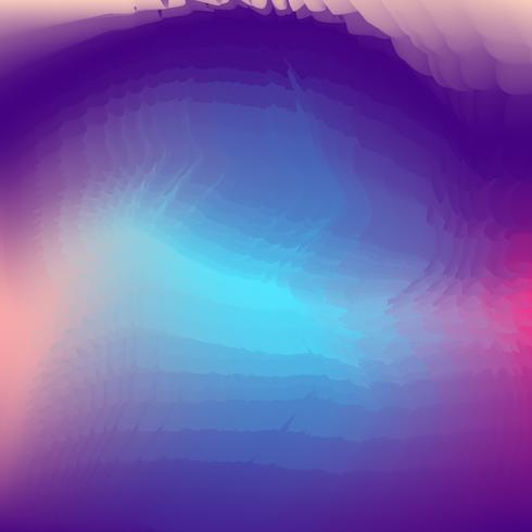 Abstrait créatif fluide multicolore arrière-plan flou vecteur