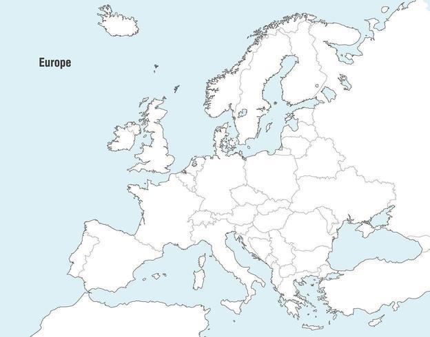 Cartes Vectorielles D Europe Telecharger Vectoriel Gratuit Clipart Graphique Vecteur Dessins Et Pictogramme Gratuit