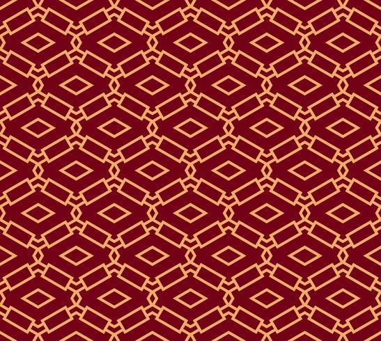 Ornement vectorielle continue. Moderne linéaire géométrique chic vecteur