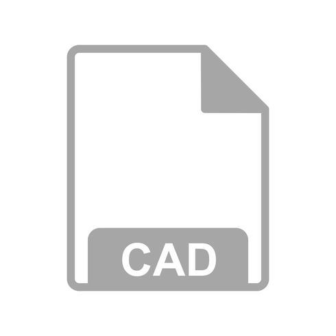 Icône de vecteur CAO