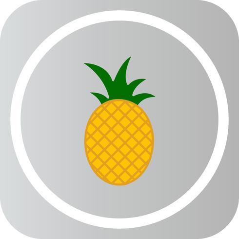 Icône de vecteur pomme de pin