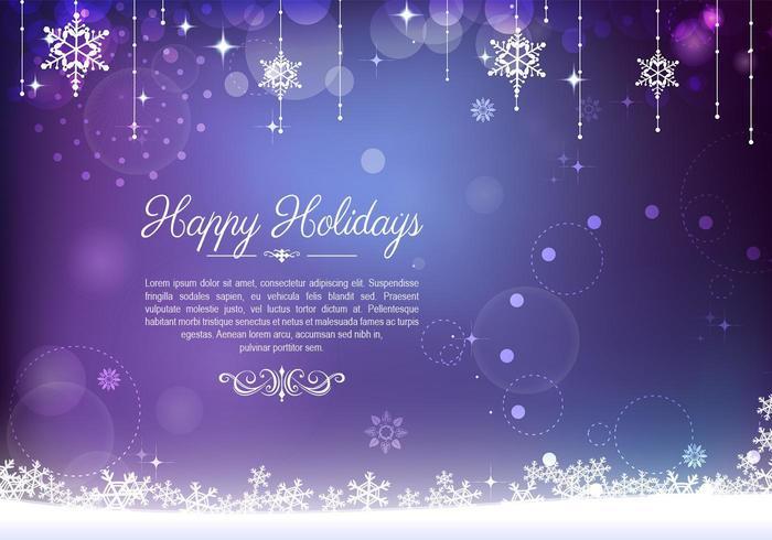Vecteur de fond décoratif vacances violet