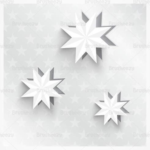 Pack 3D Vector Star Star