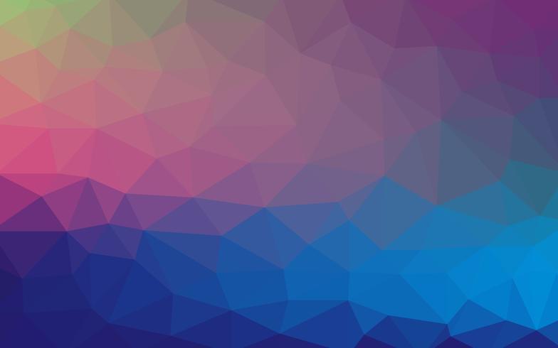 Fond de formes géométriques. Motif de mosaïque colorée. Vecteur