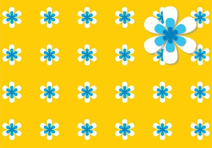 Pack de vecteur de fond de puissance de fleurs