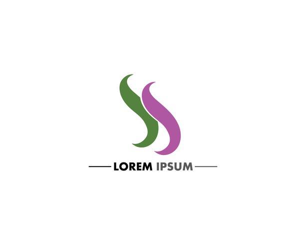 Logo de lettre S et vecteurs de conception de symbole vecteur