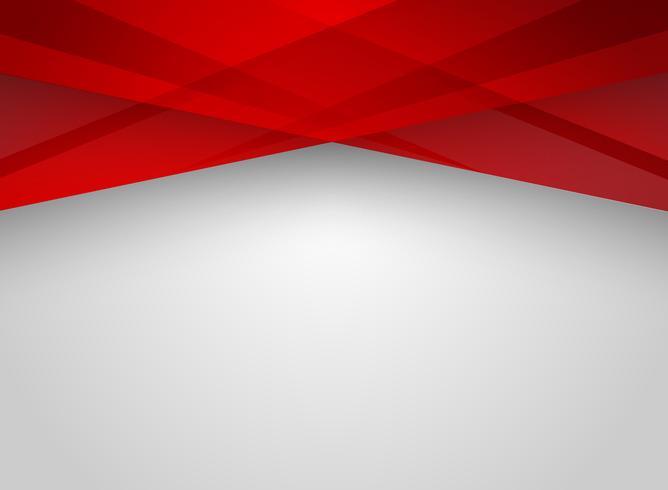 Fond Abstrait technologie technologie géométrique couleur rouge brillant. vecteur