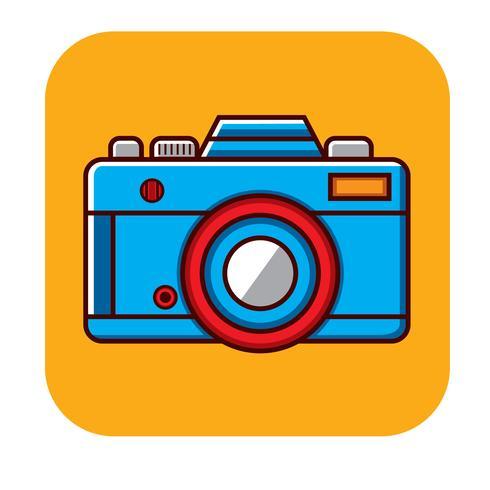 Modèle vectoriel de logo caméra