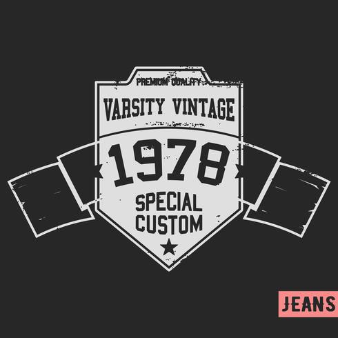 Bouclier vintage vecteur