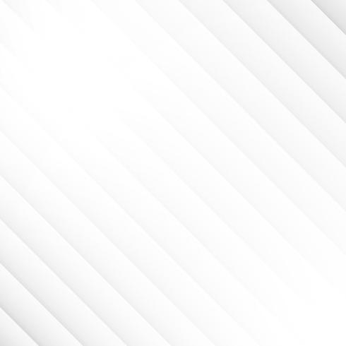 Fond de couleur blanche et grise motif géométrique abstrait diagonale et texture. vecteur