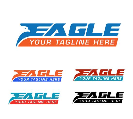 logo aigle express vecteur