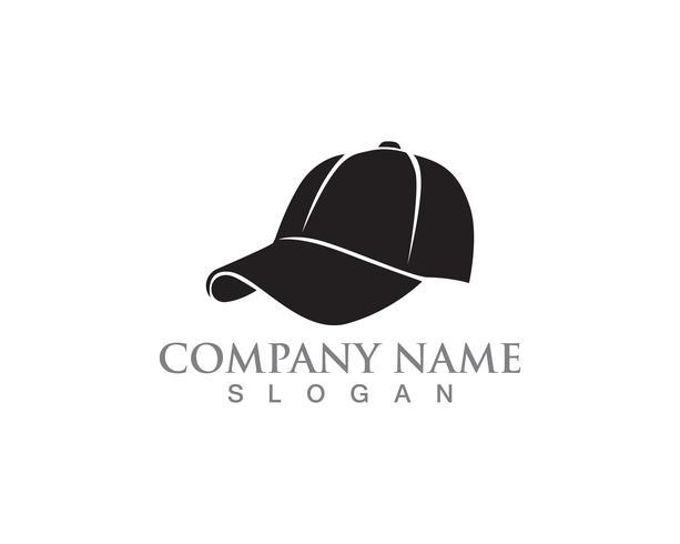 Chapeau femme vecteur symboles logo couleur noire
