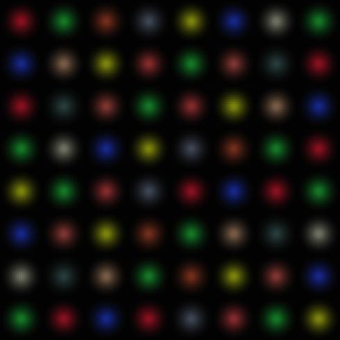 Fond de boules de couleur vecteur