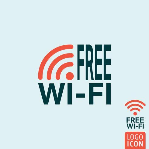 Icône wifi gratuite vecteur