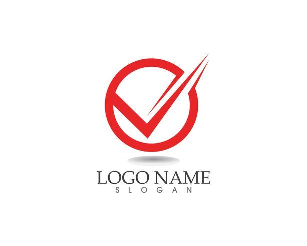 Modèle de logo et symboles commerciaux lettres V vecteur
