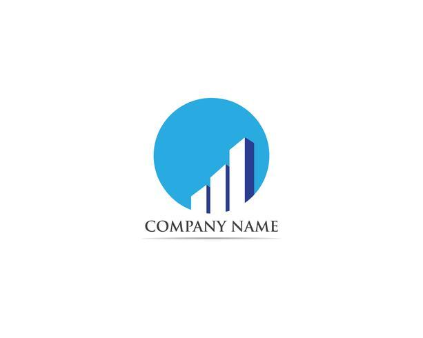 logo finance et vecteur de symboles