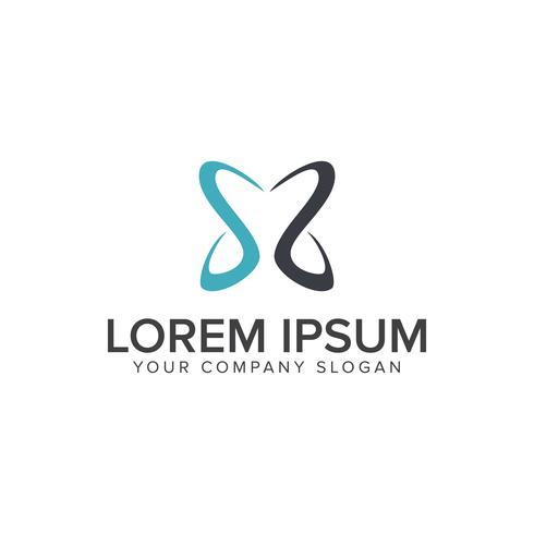 modèle de concept de design lettre s logo vecteur