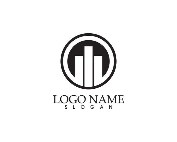 logo finance et symboles vector illustration concept