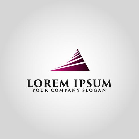 Modèle de concept de design abstrait business logo vecteur