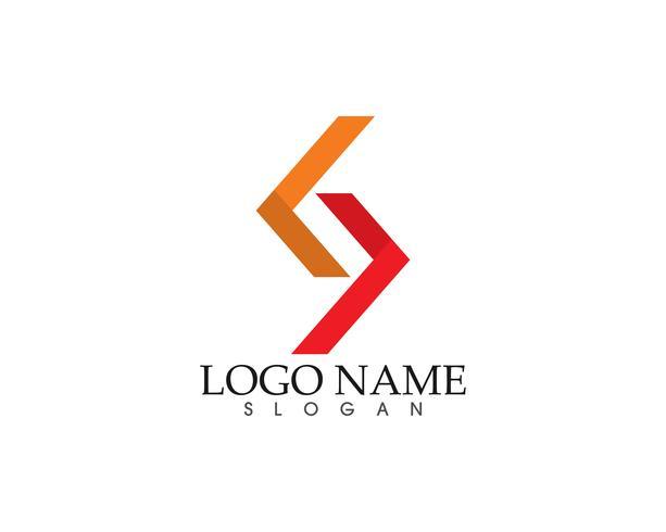 Résumé numérique numérique paire logo finance entreprise vecteur