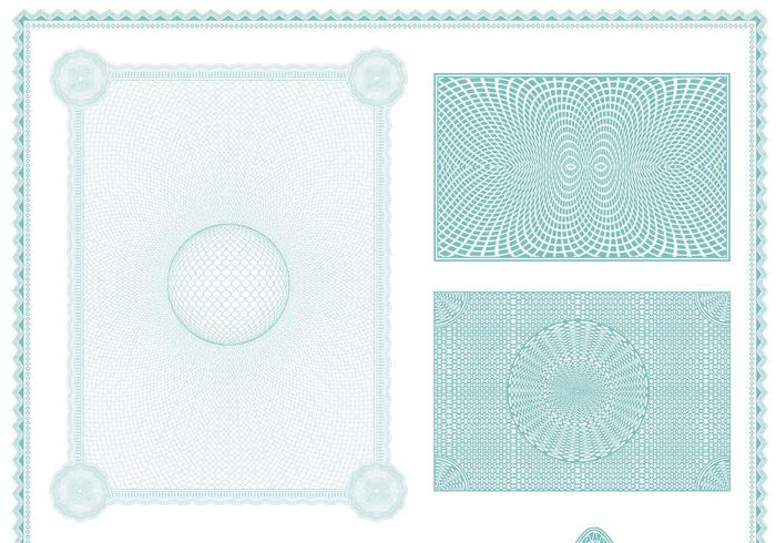 Certificate Backgrounds Vector Pack