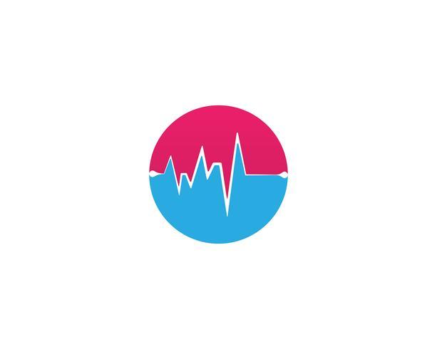 vecteurs de rythme cardiaque vecteur