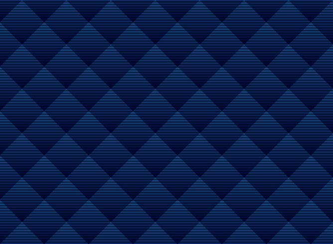 Réseau subtile abstraite de carrés bleu foncé. Treillis de style luxe. Répétez la grille géométrique. vecteur